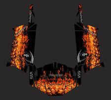 Polaris 900 xp RZR Inferno  Design Decal Graphic Kit Wraps 2 door