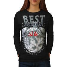 Best Fisherman Vintage Women Long Sleeve T-shirt NEW | Wellcoda