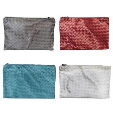 New Authentic BOTTEGA VENETA Intrecciolusion Nylon Cosmetic Bag Pouch 301491