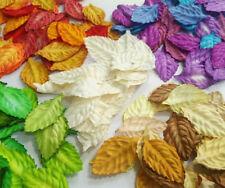 100 pcs Rose Leaf Mulberry Paper Crafts Wedding Scrapbooking Card DIY 2.50x4.5cm