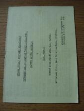 15/03/1981 Sussex DOMENICA invito intermedio FINALE TROFEO: Alpine ROVER RES