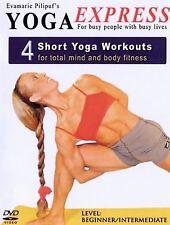 Yoga Express: 4 Short Yoga Workouts (DVD, 2005)