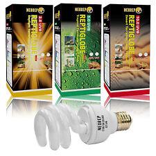 Reptile Compact Fluorescent Vivarium Lamp Light 2.0 / 5.0 / 10.0 UVB ES Screw