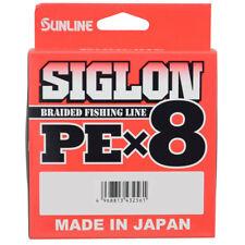 SUNLINE SIGLON BRAIDED FISHING LINE PE X8 MULTI COLOUR X 150M