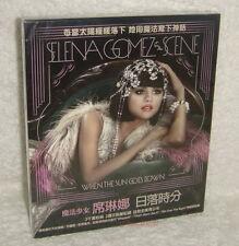 Selena Gomez & The Scene When Sun Goes Down Taiwan CD w/BOX