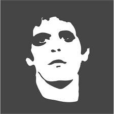 Lou Reed Vinyl Decal Transformer Velvet Underground Andy Warhol