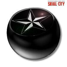 Nautical Star Black piercing Ball-schraubkugel-bala joyas tatuaje estrella
