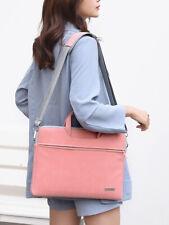 Soft Laptop Notebook Bag Shoulder Messenger Case 13 14 15 inch + Adapter Pouch