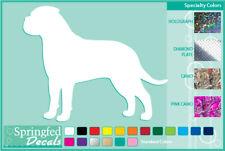 Bull Mastiff Silhouette cut vinyl decal #1 car truck window Dog Sticker