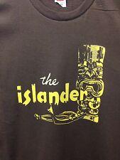 Tiki Bar Vintage Reproduction Islander Restaurant Los Angeles T-Shirt