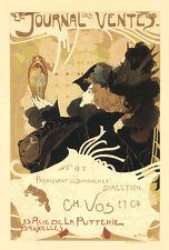 Vintage Français Style Art Nouveau Shabby Chic Imprimés /& Affiches 074 A1,A2,A3
