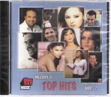MELODY'S TOP HITS: Hakami, Mai, Rashed, Ehab, Kazem, Hamada Helal ~Arabic mix CD