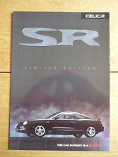 Toyota Celica Sr folleto 1998 Jm