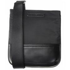 New Mens Emporio Armani Black Logo Pouch Polyester Cross Body Bag Bags 1582cca38059c