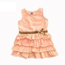 NEW Infant Girls Blush Zebra Sleeveless Cotton tutu Dress Size 6m.9m.1.2.3