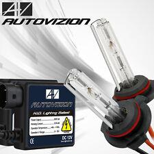 AUTOVIZION hid slim kit bulbs ballasts 9006 9004 H1 H7 H11 880 H4 H13 9007 9005