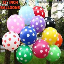 10-50 30.5cm Grand à pois Ballons Décoration de fête mariage anniversaire Balons