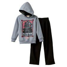 Star Wars Darth Vader 2-pc Hooded Fleece Set Sizes 14/16  RV $58 NWT
