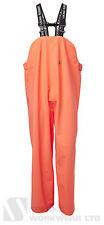 Viking GOMMA budget Tuta con Bretelle Pantaloni Agricoltura Pesca Impermeabile Arancione