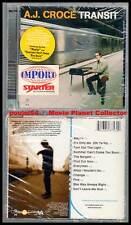 "A.J. CROCE ""Transit"" (CD) 2000 NEUF"
