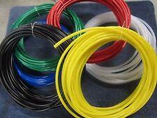 Pneumatic  Polyethylene Tubing 6 colors 1/8 5/32 1/4 5/16  8mm dia 10 Feet New