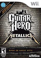 Guitar Hero: Metallica (Nintendo Wii, 2009)