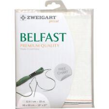 """Zweigart Precortada Belfast lino recuento de calidad Premium 32 19""""x27"""""""