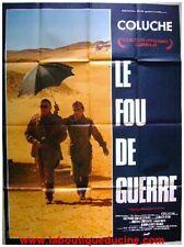 LE FOU DE GUERRE Affiche Cinéma / Movie Poster COLUCHE