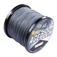 Agepoch 100M-2000M 6-300LB Test Gray Dyneema Braided Fishing Line