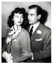 AVA GARDNER et ARTI SHAW Original Photo 1945