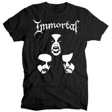 Immortal Band  black metal V1 T shirt BLACK