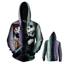 Anime The Nightmare Before Christmas Hoodies Outerwear Jackets Sweatshirts Coat