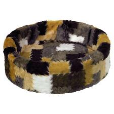 NOBBY Lit en Peluche patchwork pour chats, différentes tailles, NEUF