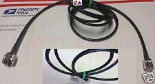 TIMES® 1-30' LMR-195 Coax Antenna Extension Cable PL-259 SO239 UHF HAM CB VHF RF