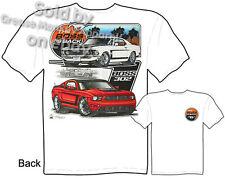 69 Boss Mustang T Shirt 302 1969 Ford Tee The Boss Is Back Sz M L XL 2XL 3XL