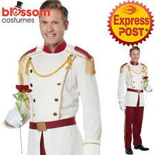 CA517 Mens Royal Storybook Prince Charming Costume Halloween Book Week Fairytale