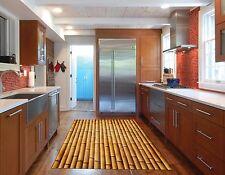 3D Bamboo Poles 7 Kitchen Mat Floor Murals Wall Print Wall Deco AJ WALLPAPER AU