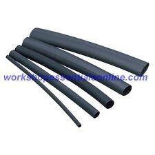 Heat Shrink Tubing 3-1 Glue Lined Black Waterproofing Heatshrink Adhesive Tubing