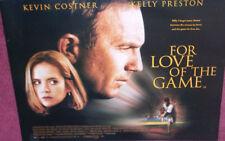Cinema Poster: FOR LOVE OF THE GAME 2000 (Quad) Kevin Costner
