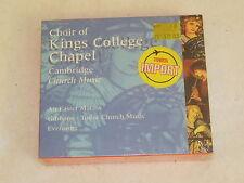 CHOIR OF KINGS COLLEGE CHAPEL Belart Import 3-disc set Still In Shrinkwrap