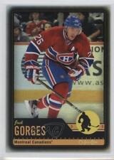 2012-13 O-Pee-Chee Black Rainbow Foil #374 Josh Gorges Montreal Canadiens Card