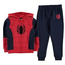Spiderman: Full zip à capuche jogging Set, 2/3,3/4,4/5,5/6,7/8,9/10YRS, neuf avec étiquettes