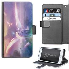 Pegasus unicornio Funda para teléfono, Cartera De Cuero, Samsung, Apple