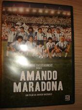 DVD FILM AMANDO MARADONA NAPOLI  CALCIO ARGENTINA
