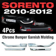 Chrome Side Bumper Guard Garnish Molding Cover C331 For KIA 2010-2012 Sorento R