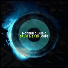 Modern Classic Drum & Bass Loops Ableton Live Logic FL Studio Cubase Garageband