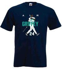 """Ken Griffey Jr Seattle Mariners """"AIR HR NEW"""" T-shirt Shirt or Long Sleeve"""