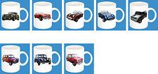 300ml Keramik Becher mit Motiv: Austin Auto Modelle Kaffee Tasse Car 11oz