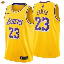 LeBron James 23 Los Angeles Lakers Nike Swingman Jersey 2018/19 Icon Edition NWT