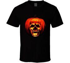 Halloween Horror Michael Myers Pumpkin Movie Fan T Shirt